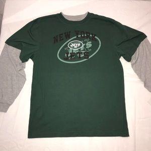 NY Jets Team Long Sleeve Shirt Youth Size XL 18-20
